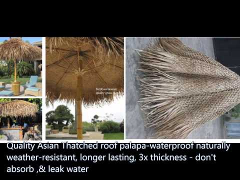 5:tropical umbrellas_thatch cover-umbrellas,awnings palapa thatch sale 20'',9',&12ft