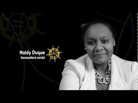 Afrocolombianos del Año, 2011. Sector Social. Ganadora: Haidy Duque