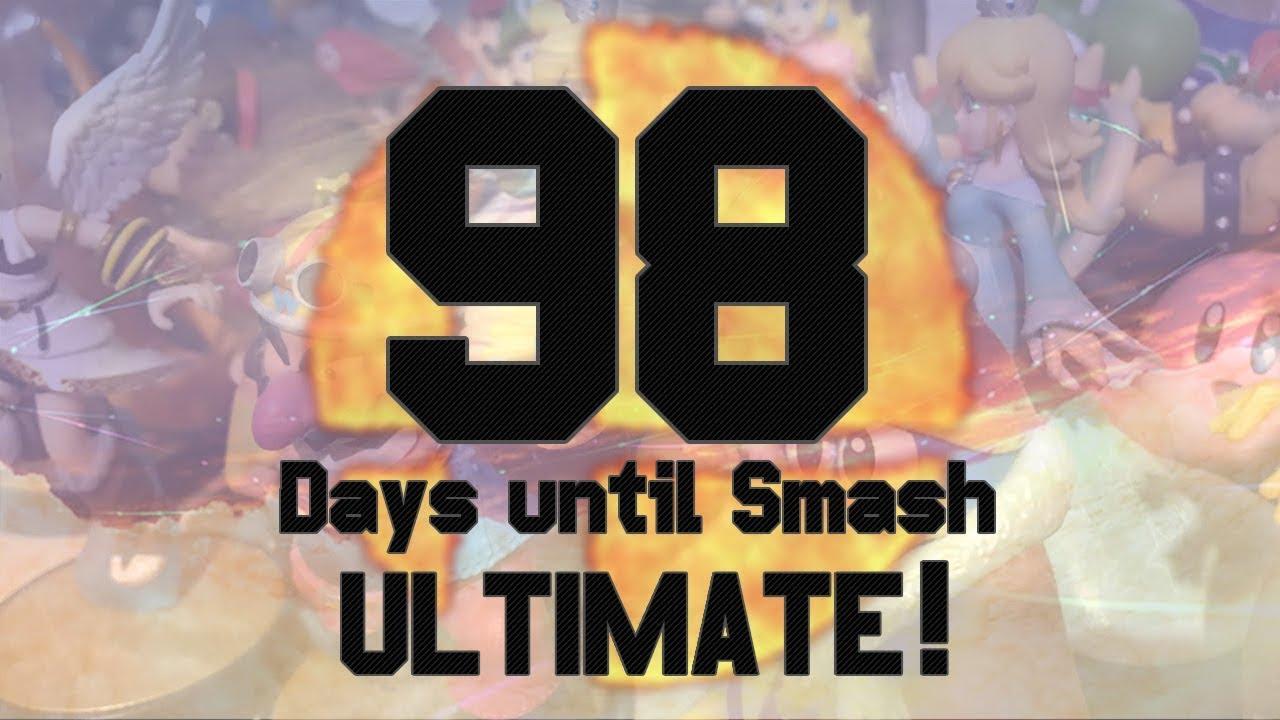 98 Days Until Smash Ultimate Finishing What I Started