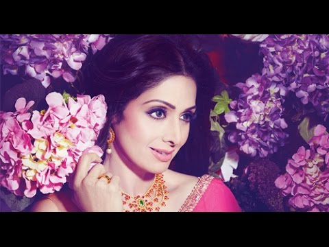 Sridevi @52 | Wishing HAPPY BIRTHDAY | Latest Photoshoot exclusive stils- MovieBlends