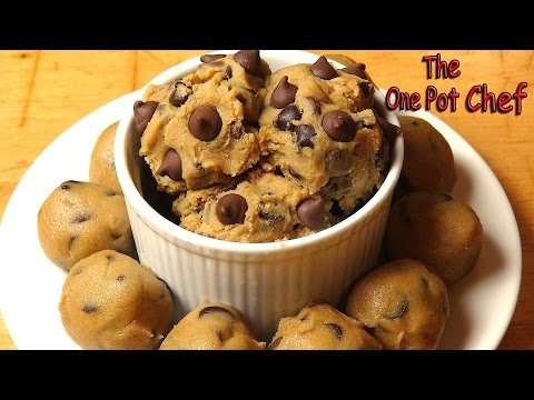 Save Edible Chocolate Chip Cookie Dough | One Pot Chef Pictures