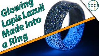 Making a Real Lapis Lazuli Glowstone Ring