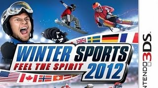 Winter Sports 2012 Feel the Spirit Gameplay {Nintendo 3DS} {60 FPS} {1080p}