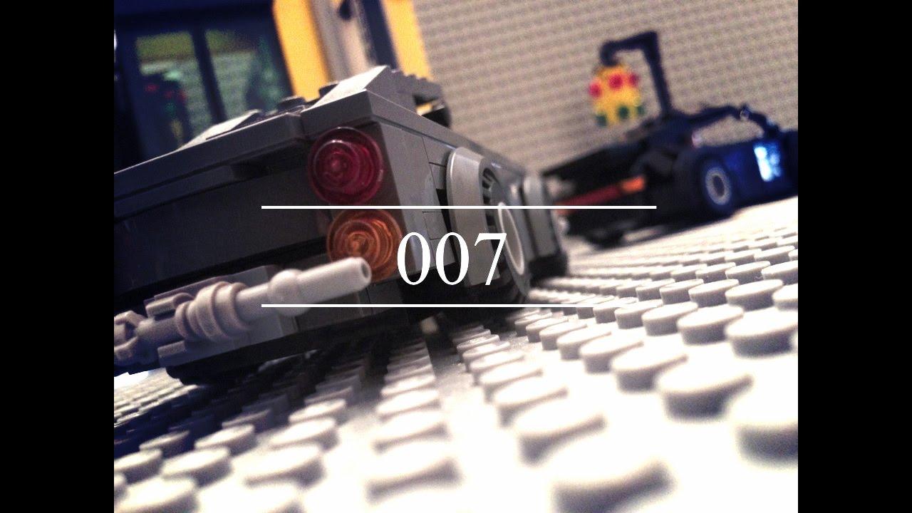 lego secret agent james bond 007 aston martin and porsche. Black Bedroom Furniture Sets. Home Design Ideas