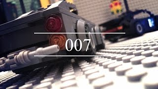 Lego Secret Agent James Bond 007 (Aston Martin and Porsche car chase)