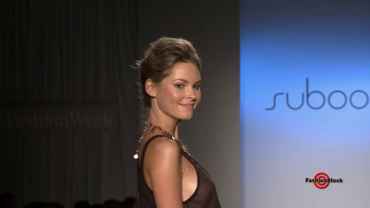 Suboo   Mercedes Benz Fashion Week Miami Swim 2013 Runway Bikini Top Models  Show   YouTube