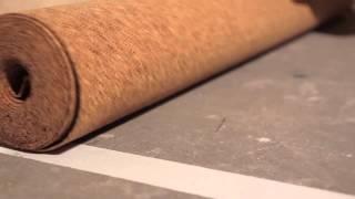 Пробковая подложка(Пробковая подложка. Видео по укладке пробковой подложки для напольных покрытий. Купить пробковую подложку..., 2014-02-16T15:42:01.000Z)