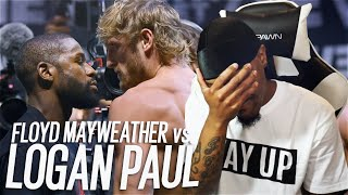 I WATCHED LOGAN PAUL HUG FLOYD MAYWEATHER FOR $100 MILLION!