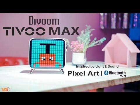 Divoom Tivoo Max Unboxing, Review   New Best Pixel Art Speaker with Bluetooth 5.0