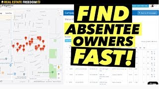 How To Find Absentee Owners