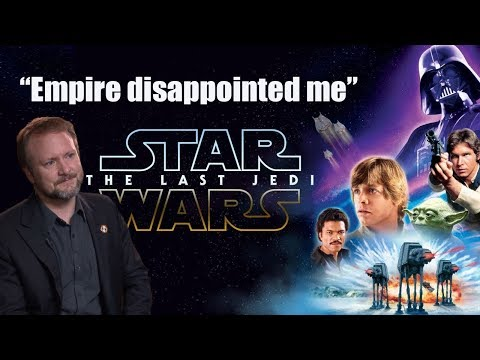 Rian Johnson Compares Last Jedi To Empire Strikes Back