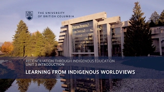 Topic 3: Learning from Indigenous Worldviews