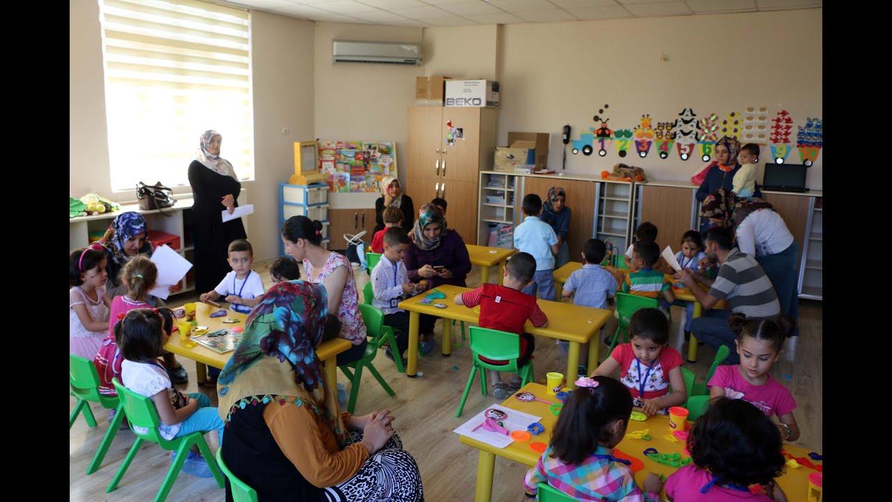 Halide Edip Anaokulunda Çocukların Okul Heyecanı Başladı
