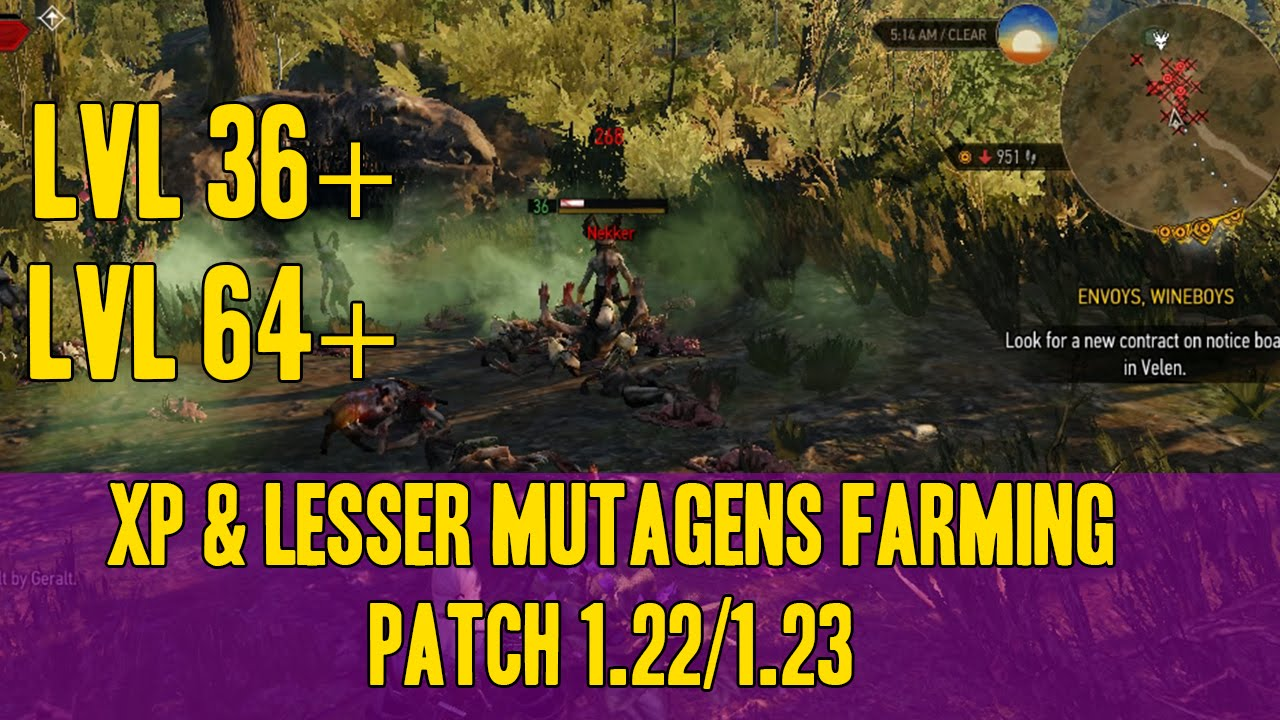 Witcher 2 Mutagene Benutzen