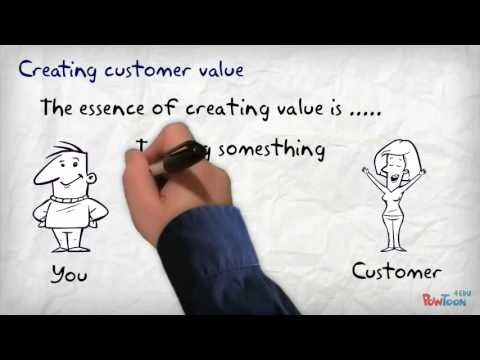 customer value building approaches A customer value proposition is a business or marketing statement that describes why a customer should buy a product or use a service it is specifically targeted towards potential customers rather than other constituent groups such as employees, partners or suppliers.