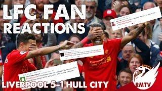 Liverpool v Hull City 5-1 | LFC Fan Reactions