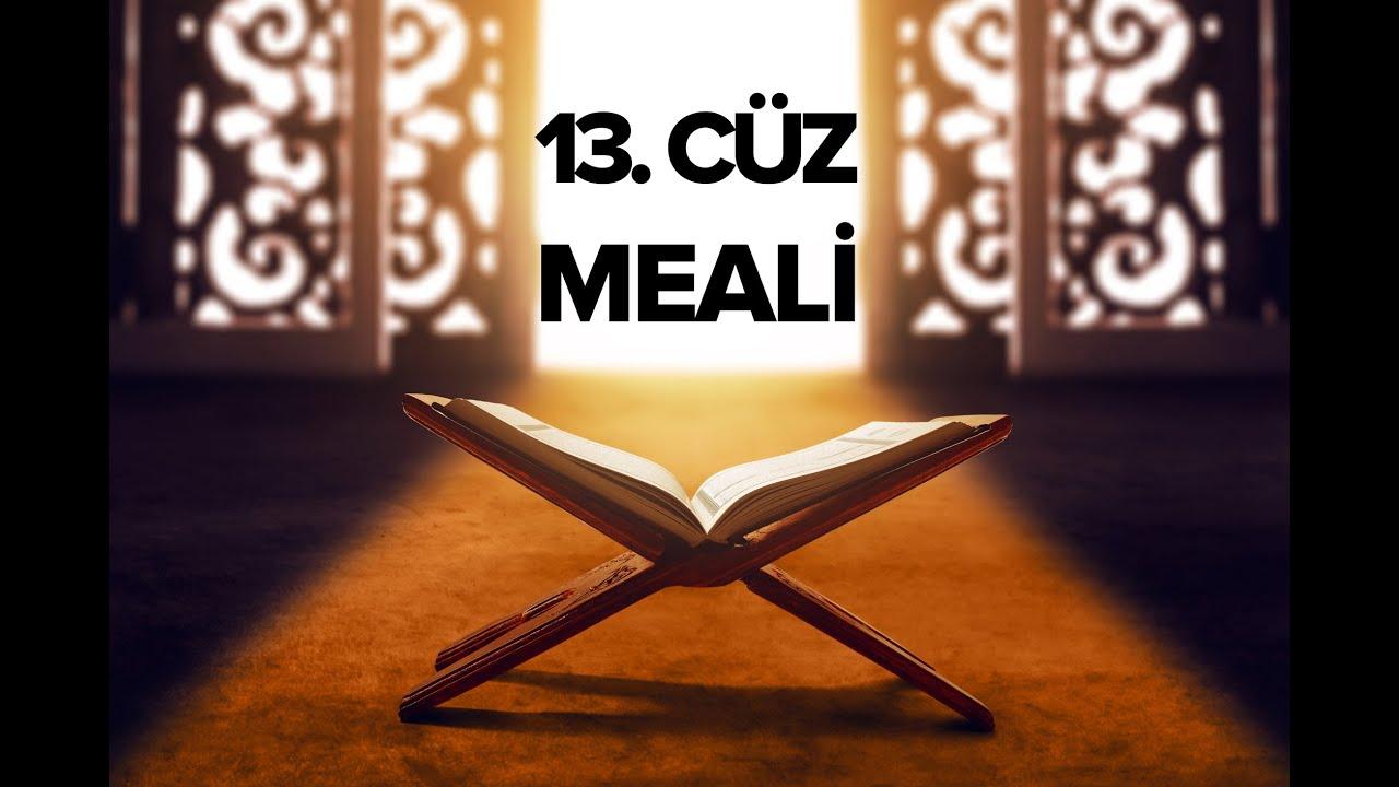 Kur´an Meâli 13. Cüz - Elmalılı Muhammed Hamdi Yazır