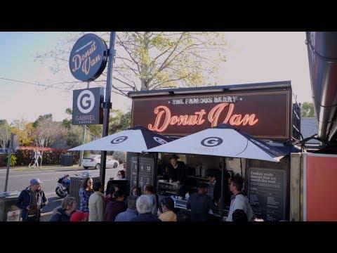 The Famous Berry Donut Van, Sydney - Vlog