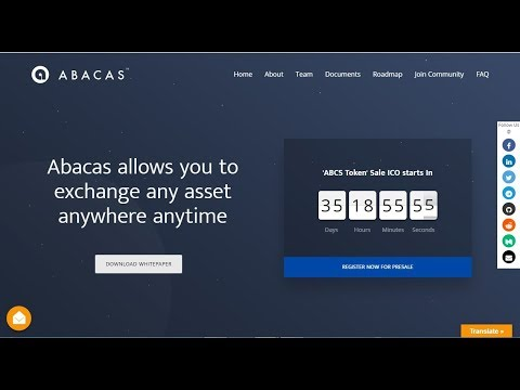 AbacasXchange is a universal exchange that allows you to trade,any asset anywhere anytime