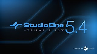 WHATS NEW in the Studio One 5.4 UPDATE! | NATIVE Apple M1 Silicon Support! | AVAILABLE NOW