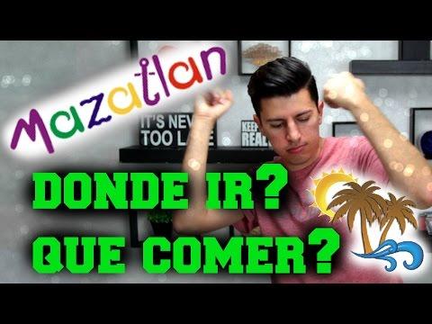 MAZATLAN - DONDE IR - QUE COMER