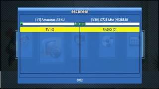 T-Bird HD S200 IPTV, scanner canales