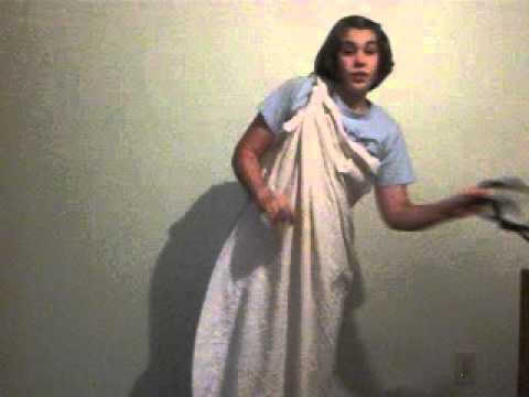 how to make a greek toga