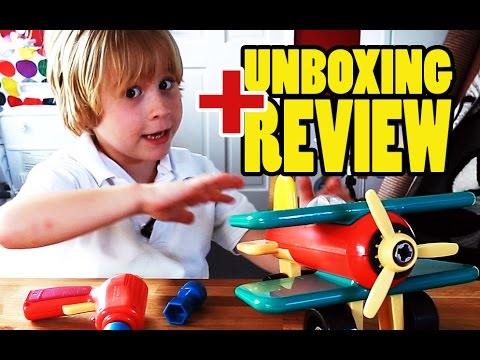 Battat Take Apart Airplane: Unboxing and Review of Battat's Take-Apart Airplane | Beau's Toy Farm