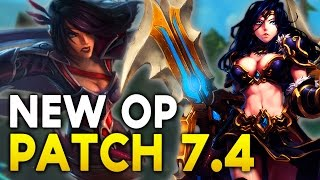 NEW OP CHAMPS IN 7.4 - ADC BUFFED? CHO META? Champs to watch / Nerfs / Buffs (League of Legends)
