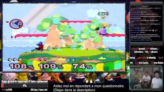 Super Smash Bros Melee avec Sigomare + Attaque surprise de Champac