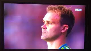 National Anthem at Soccer Match televisied by FOX SPORTS