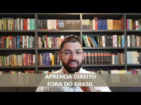 Aprenda Direito fora do Brasil
