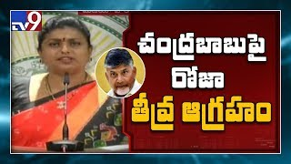 YCP Roja hot comments on and#39;Chandrababu Vision 2020and#39;