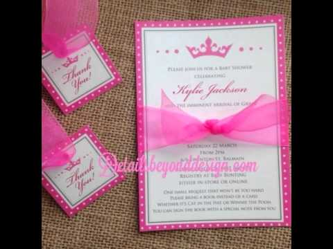 Princess themed quince invitations youtube solutioingenieria Image collections