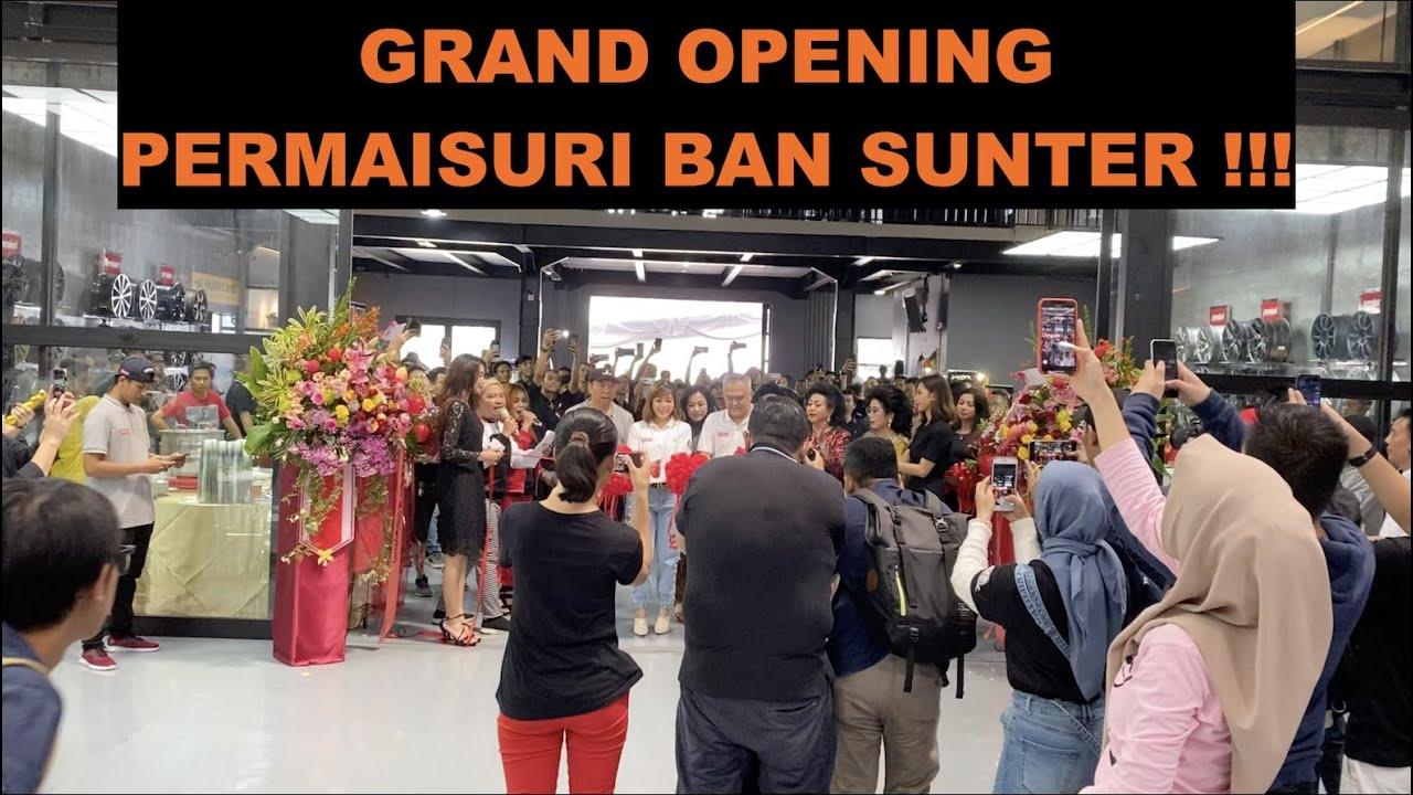 GRAND OPENING PERMAISURI BAN CABANG SUNTER !!! #carvlog