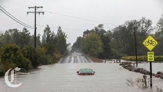 Flooding Power Outages Hit Rain-Soaked Northern California