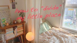 (ENG)침대만 보이면 눕고 보는 나를 위한 공간 분리…