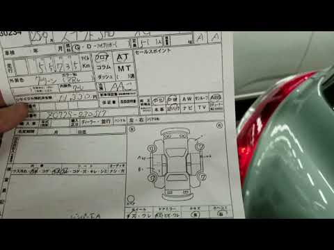 Japan Car Auction Sheet Markings, A1, U1, B1 [Smile JV]