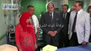 محافظ سوهاج ورئيس الجامعة يزوران قسم طب الأطفال بالمستشفى الجامعى عقب تطويره