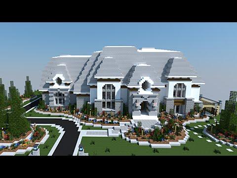 Minecraft 2 maisons pour le prix d 39 une p youtube - Prix d une piscine magiline ...