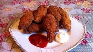 Куриные Крылышки в Хрустящей Корочке/Chicken Wings/Очень Простой Рецепт(Вкусно и Быстро)