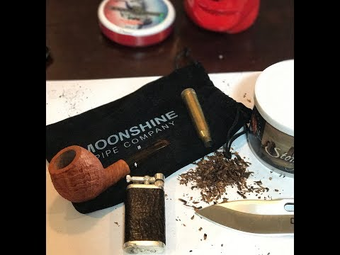 Moonshine Pipes XXX Devil Anse Pipe Unboxing and Review