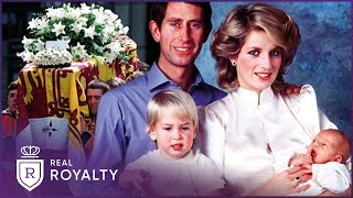 The Early Life of Prince William and Prince Harry | Real Royalty