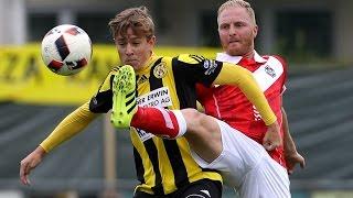 Cupspiel FC Gunzwil - FC Lugano 1:4 (Quelle: Tele1)