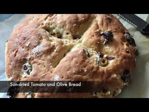 Easy Sun-dried Tomato And Olive Bread - Episode 329 - Baking With Eda
