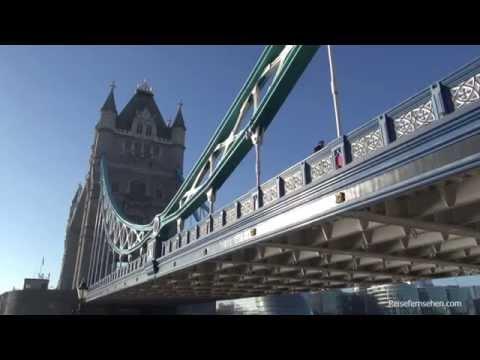 London: Tower Bridge & Tower of London by Reisefernsehen.com - Reisevideo / travel video
