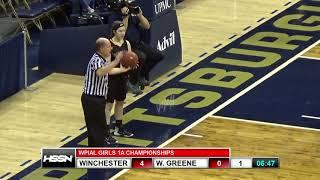 WPIAL Girls Basketball Class 1A Championship - West Greene vs Winchester Thurston