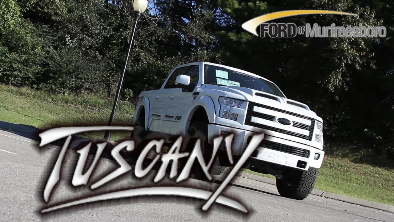 2015 Ford F 150 Lariat By Tuscany White Ftx Black Out Youtube