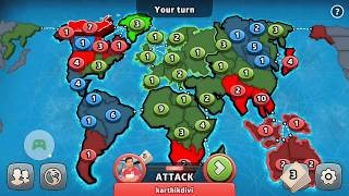 Risk Global Domination Game Play