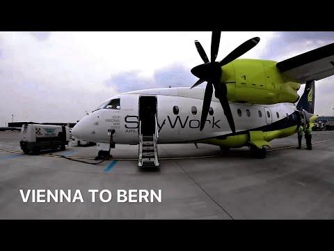 [Tripreport] SkyWork Airlines Dornier 328 [HB-AEO] Vienna - Bern(Belp)